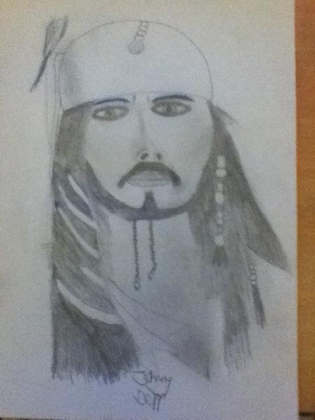 Johnny Depp by kiljoytom